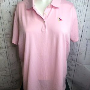 NWT Adidas light pink golf style T-shirt x…
